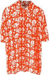 Hawaii Blouse Bloem Oranje