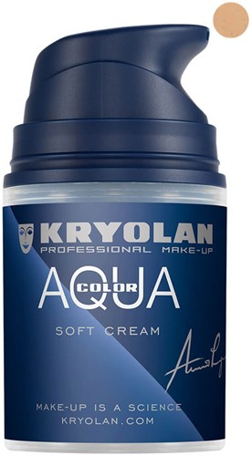 Aquacolor Softcream 50ml Kryolan 2W