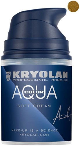 Aquacolor Softcream 50ml Kryolan Gold