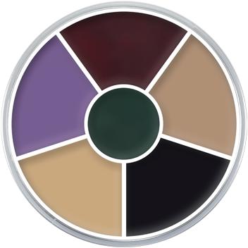 Supracolor Vetschmink Kryolan Black Eye (6 kleuren)