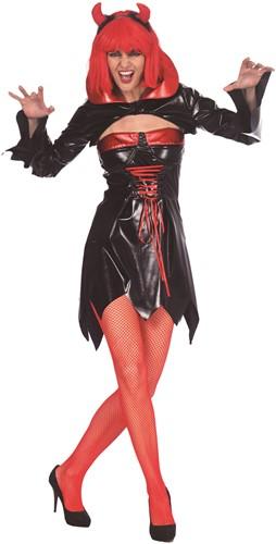 Damesjurk Sexy Vampier Zwart