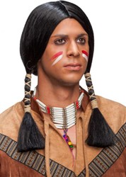 Heren Indianenpruik Traditioneel