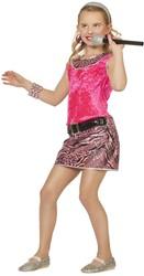 Jurkje Disco Pink Girl