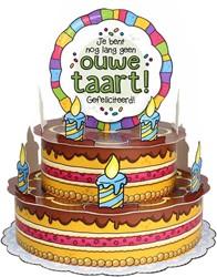 3D Taart Ouwe Taart!