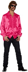 Disco Ruches Blouse Luxe Pink