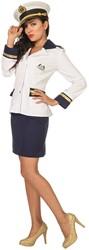 Dameskostuum Marine Lady