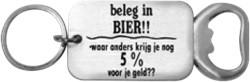 Flesopener Beleg in Bier