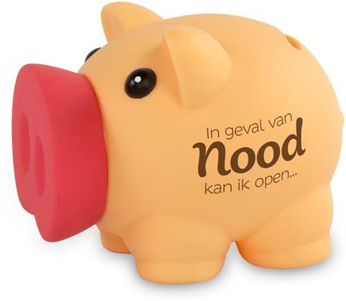 Spaarvarken In Geval Van Nood