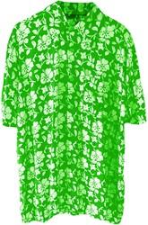 Hawaii Blouse Bloem Groen
