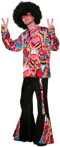 Disco Kostuum Popart Heren