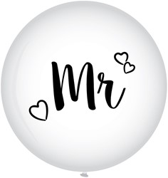 Megaballon Mr. - Huwelijk (90cm)