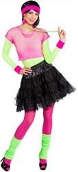 Nethemd Kort Luxe Neon Pink