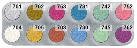 Grimas Water Make-up Palet P12 Pearl (2,5ml)