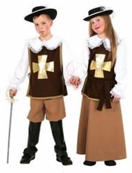 Kostuum Musketier Jongen