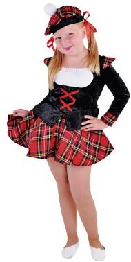 Kostuum Schots Meisje Luxe