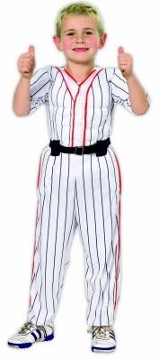 Kinder Baseball Kostuum