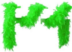 Boa 2mtr. 45 gram Neon Groen