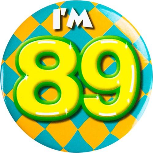 Button 89 jaar