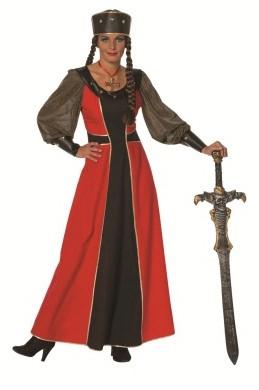 Ridderdame Rood-Zwart