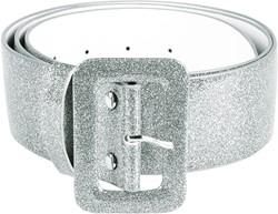 Riem Glitter Zilver (120x5cm)