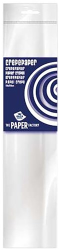 Crepe Papier Wit