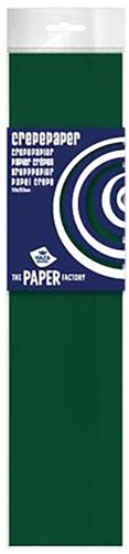 Crepe Papier Donkergroen