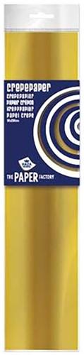 Crepe Papier Goud