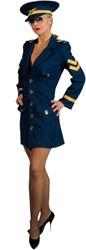 Dameskostuum Police Girl Marine