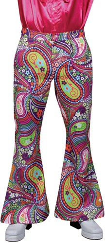 Hippiebroek Funky Colors Heren