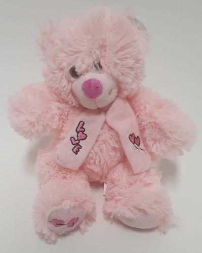 Pluche Love beertje Roze 30 cm