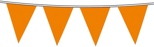 Vlaggenlijn Nylon 10m Oranje