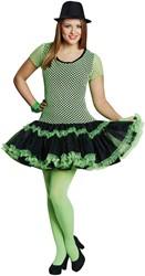 Netjurkje Neon Groen-Zwart voor dames