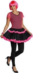 Netjurkje Neon Pink-Zwart voor dames