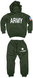 Kinder Leger Joggingpakje US Army