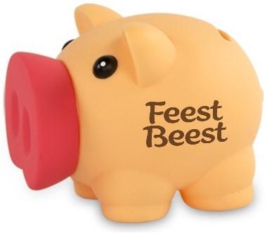 Spaarvarken Feestbeest
