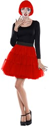 Tulen Petticoat Rood Rok