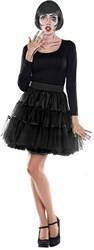 Tulen Rok Petticoat Zwart