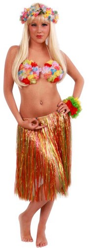 Hawaiirok Multicolor 55cm