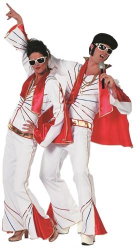 Herenkostuum Elvis met Sjaal