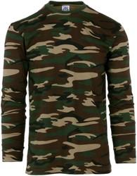 T-Shirt Camouflage (Lange Mouw)