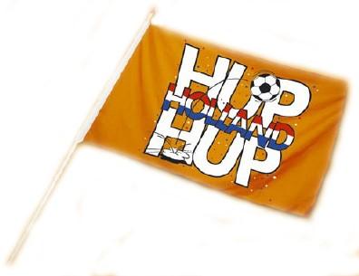 Zwaaivlag Hup Holland Stok