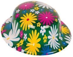 Bolhoed Hippie Bloemen (plastic)