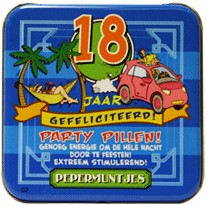 Pocket Tin 18 jaar