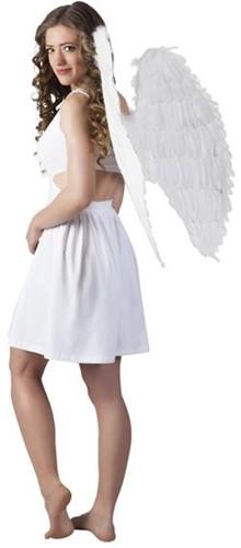 Engelen Vleugels Wit (87x72cm)