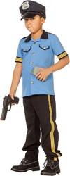 Politiepakje Blauw voor jongens