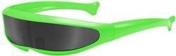 Supersnelle Planga Bril Groen - Zwart