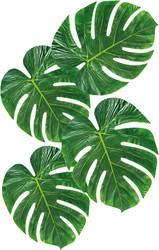 Decoratie Palmbladeren 4st (28x35cm)