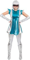 Dameskostuum Space Woman