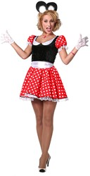 Damesjurkje Minnie Mouse Modern