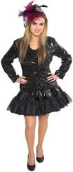 Dames Jasje Pailletten Luxe Zwart